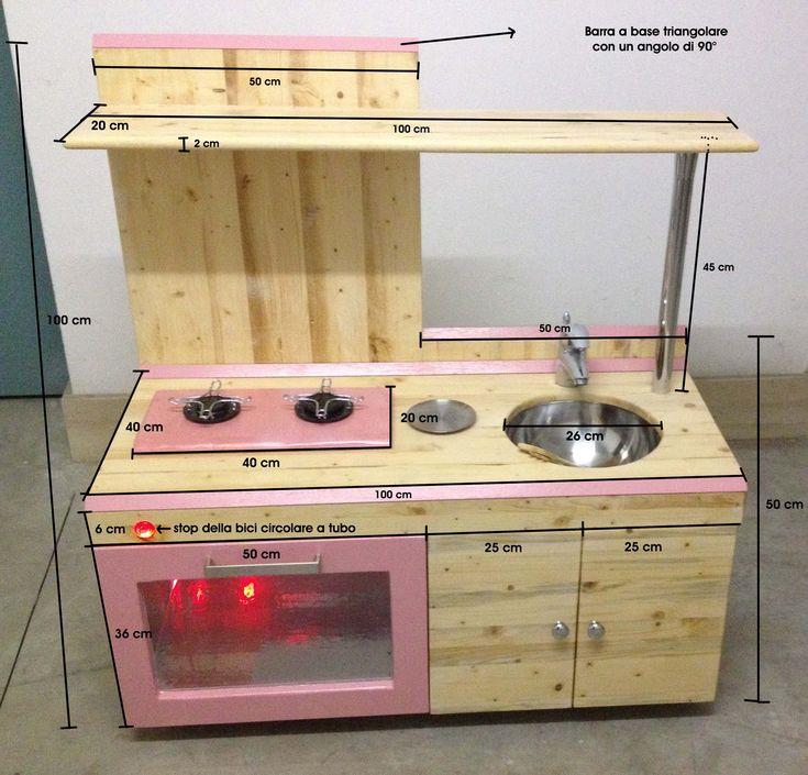 1000 idee su progetti in legno per bambini su pinterest - Mini cucina per bambini ...