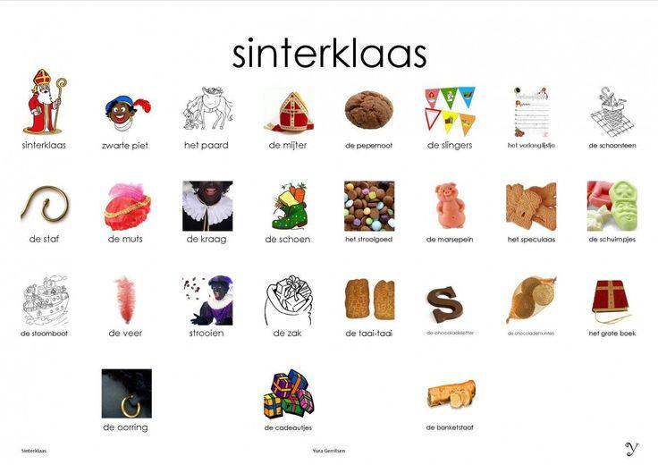 Sinterklaas plaat