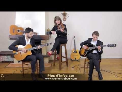 Black Orpheus - Trio bossa et jazz manouche pour mariages et événements - YouTube
