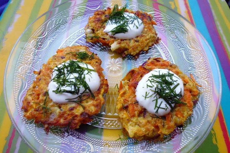 Placuszki z cukinii bez mąki. Przepis na blogu www.dietetycznie-fantastycznie.blogspot.com Zuucchini pancakes without flour ! :-) #cukinia #healthyfood