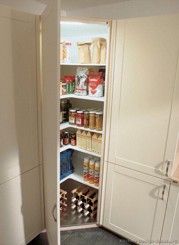 Corner Kitchen Pantry Cabinet To Maximize Corner Spots At Home   My Kitchen  Interior