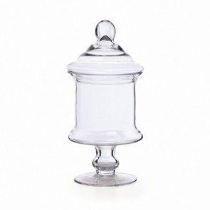 Glass Candy Jar GJ005