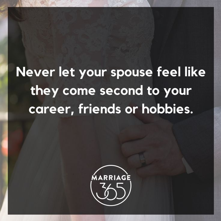 Don't make your spouse feel like they come second or even last.  Put your spouse as top priority in your life.  Learn how to make your marriage a priority during our webcast on December 8th. Watch live or watch the replay.