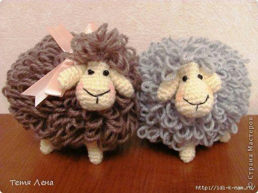 Вязания Овечки, Вязаная Овца,