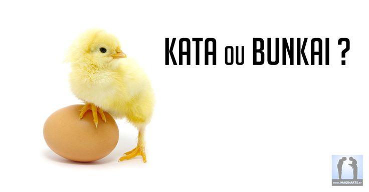 Kata ou bunkai, lequel est arrivé en premier ? Pour moi, c'est un peu le même problème à résoudre que pour la poule et l'œuf.