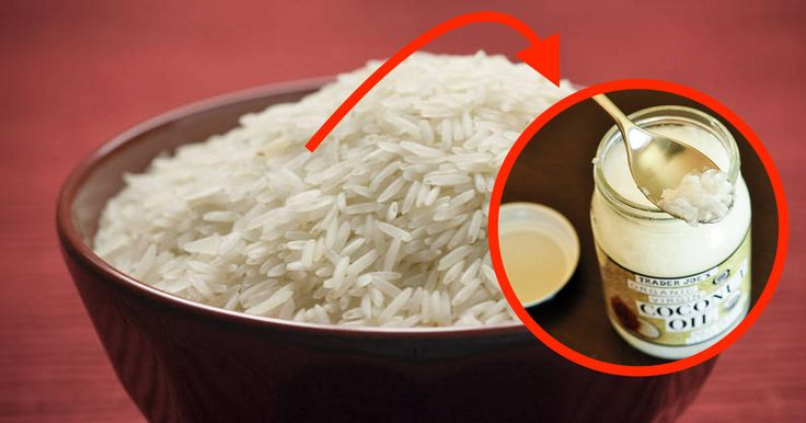 How to Cook Rice With Coconut Oil to BURN More Fat and Cut Calories by 50%!