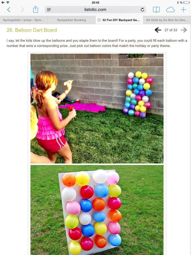Utelek ballonger