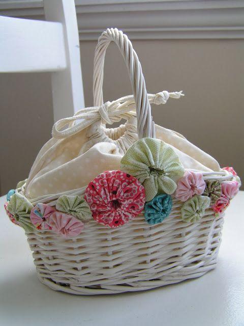 Las 25 mejores ideas sobre cestas antiguas en pinterest - Reciclar cestas de mimbre ...