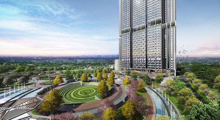 Hunian Modern Baru di Bekasi Ala Gangnam District Korea