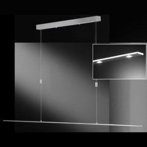 Höhenverstellbare dünne Pendellampe mit LED-Technik