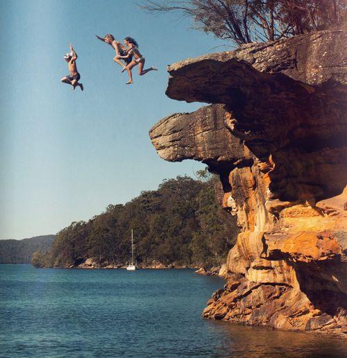 clif jumping