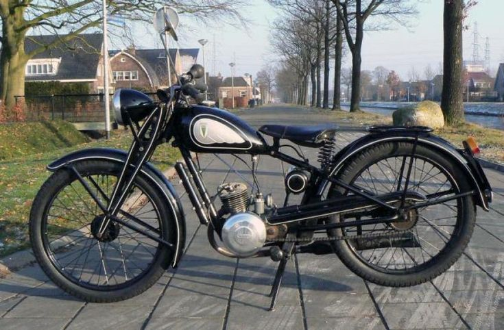 1939 DKW RT98 Classic Motorcycle Pictures