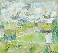 Landscape by Poul Ekelund