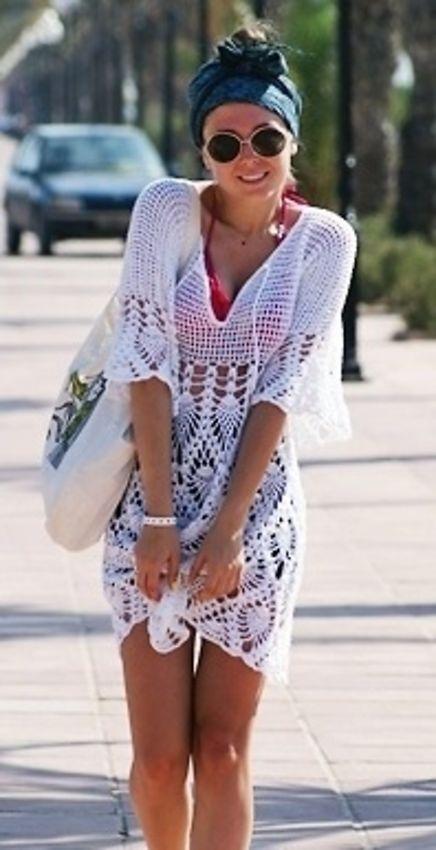 Summer crochet dress