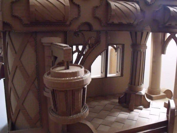 Картонный Замок Сделай-Сам Идеи Переработанного Картона