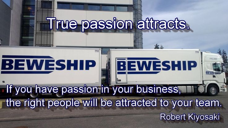 BEWESHIP - Quote of the week. Mukavaa työviikkoa! Have a great week!
