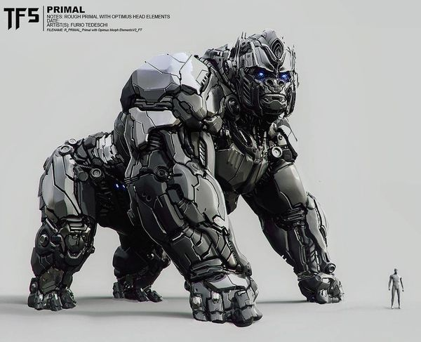 The Last Knight To Have Featured Optimus Primal?