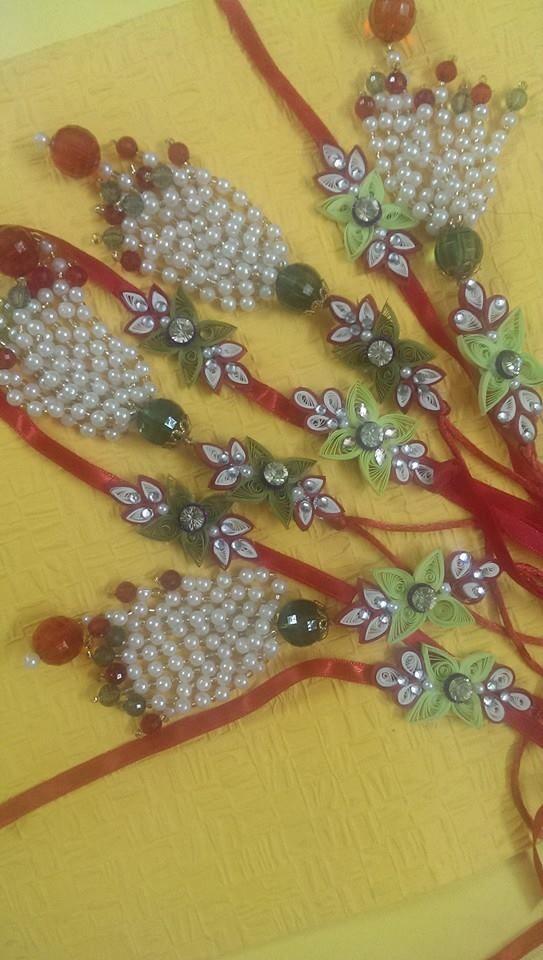 Quilled Rakhi Sets