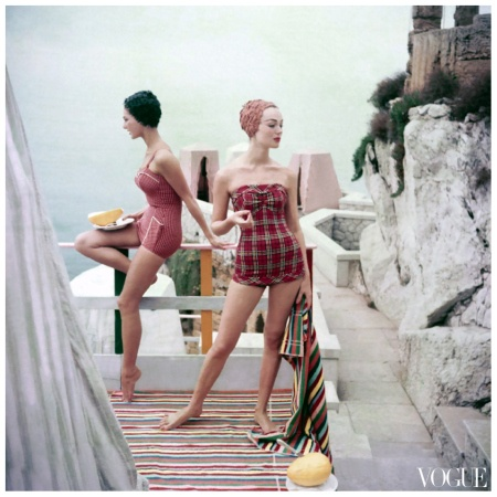 Henry Clarke for Vogue, 1955 in Palermo