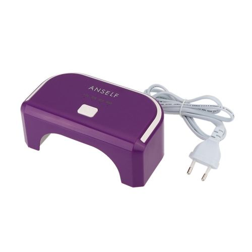 100-240V 12W LED Nail Dryer Curing Lamp Machine for Gel Nail Polish Nail Art Tool Everlasting