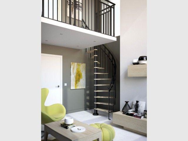 Les 25 meilleures id es de la cat gorie echelle escalier sur pinterest che - Changer escalier de place ...