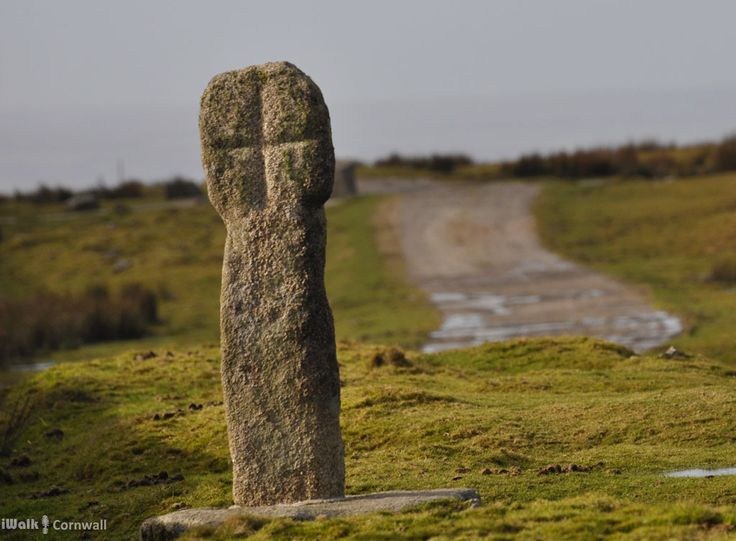 Middle Moor Cross, Bodmin Moor, Cornwall