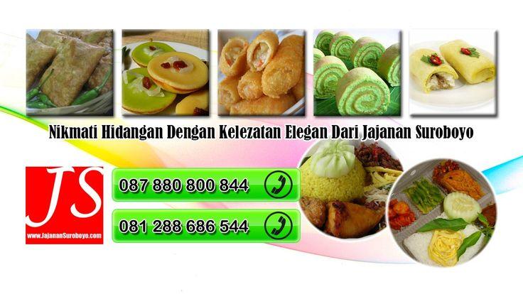 Hubungi kami di 087880800844 || 081288686544 jika anda membutuhkan Catering Enak di Surabaya Selatan http://jajanansuroboyo.com/catering-enak-di-surabaya-selatan.html