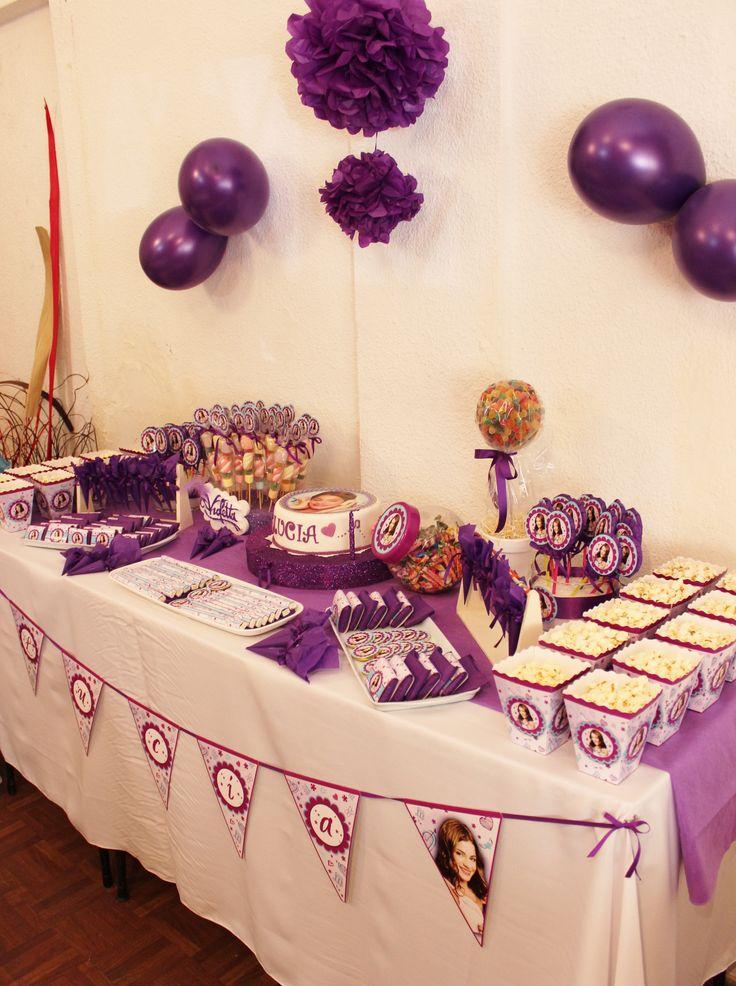 Violetta Disney Candy Bar by Violeta Glace