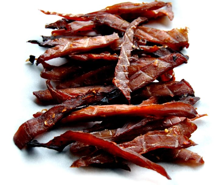 Our chicken jerky recipe is a bold one - garlic, ginger and star anise combine for layers of flavor.      - Ingredients -   2 lbs chic...