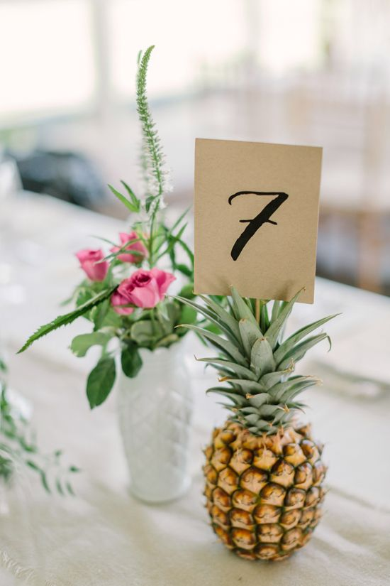 Best 20 Pineapple Centerpiece Ideas On Pinterest