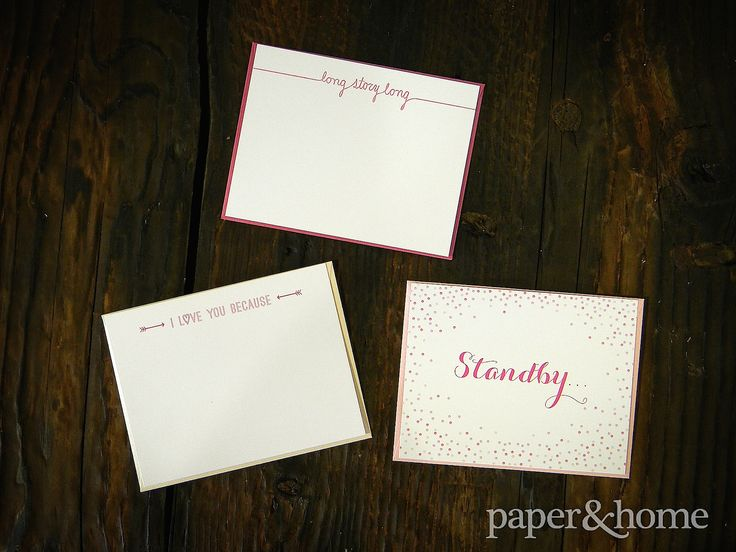 Cute Custom Greeting Cards | http://www.paperandhome.com/custom-greeting-cards/
