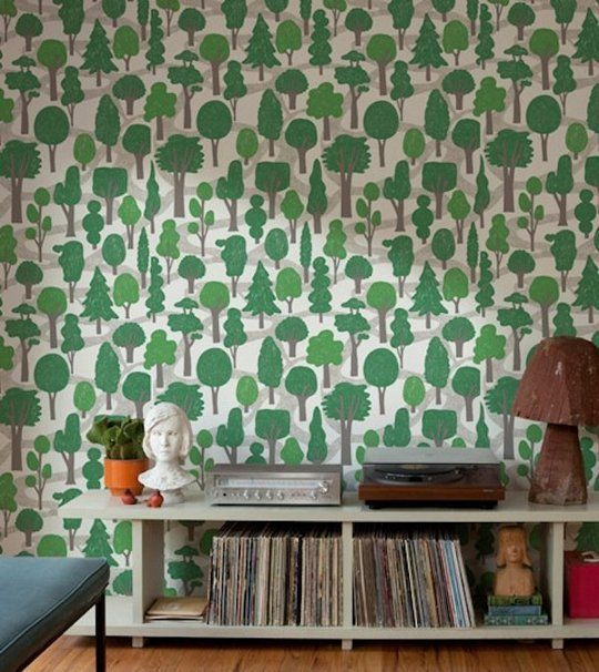 The Best of Modern Wallpaper Design: Light & Bright