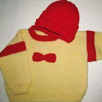 Holčičí svetřík s čepicí, ručně pletený; handmade, baby sweater, cap