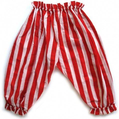 toddler pant (red stripe)
