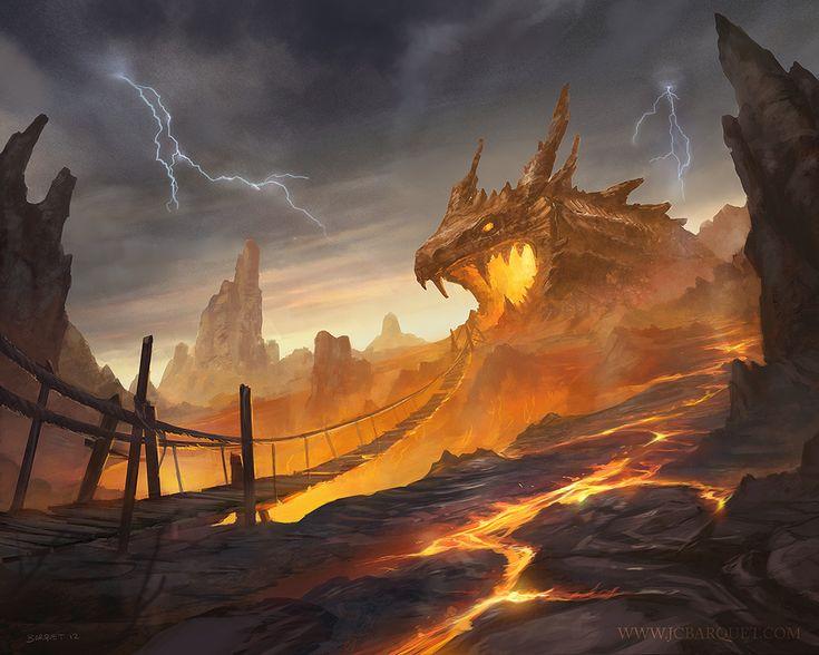 Dragon Cave by jcbarquet on deviantART