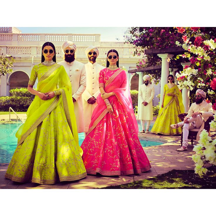 Summer crush in florescent silks and diaphanous organzas, nude make-up, statement jewellery from the Sabyasachi Heritage collection, open hair and industrial sunglasses, power-dressing at its funkiest best. Make sure your man wears white! Jewellery Courtesy: Sabyasachi Heritage Jewelry For all jewellery related queries, kindly contact sabyasachijewelry@sabyasachi.com Photo Courtesy: Tarun Vishwa #TarunVishwa Location Courtesy: Taj Falaknuma Palace, Hyderabad @tajfalaknuma #Sabyasachi #AnE...