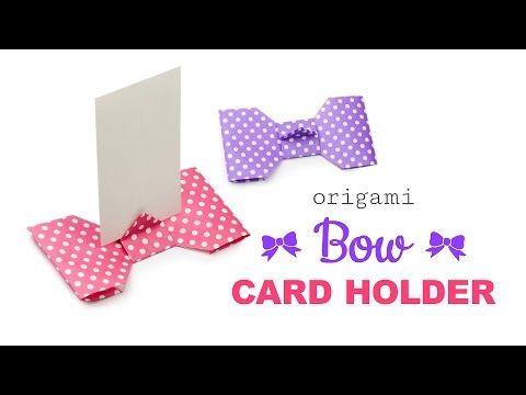 折り紙カードスタンドの折り方・作り方10選|席札にも♡ | Handful