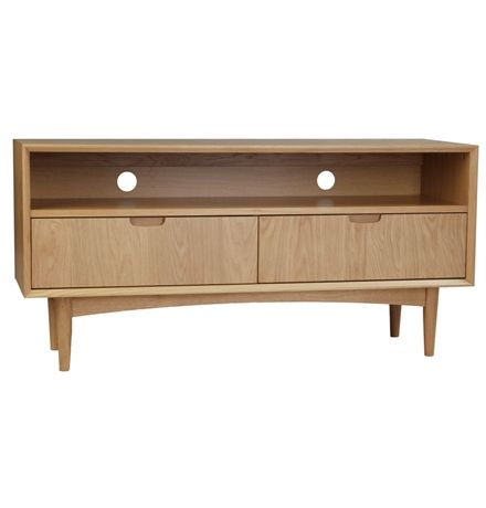 STOCKHOLM ENTERTAINMENT UNIT WITH 2 DRAWERS $595