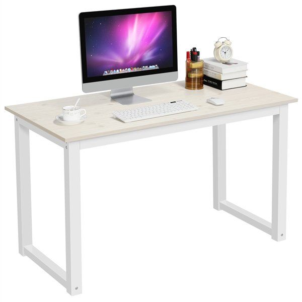 Mainstays Hairpin Writing Desk Multiple Finishes Walmart Com Desks For Small Spaces Cheap Office Furniture Bedroom Desk