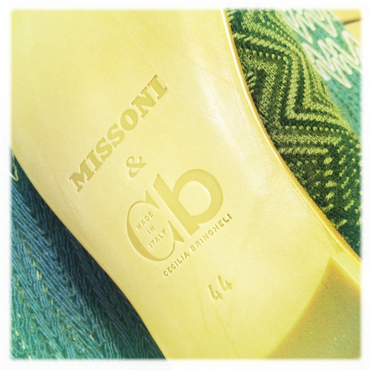Cb Made in Italy for Missoni man are ready to be shipped and will be soon available in Missoni stores across the world !