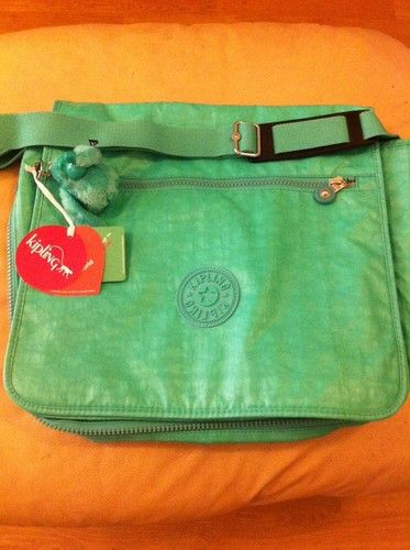 Kipling Bag In Light Green, this is different, haven't seen this one before? Love the colour & the name is very apt for me- Madhouse-