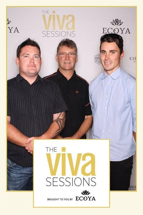 Eden Catering | The boys (Mikey - Chef, Paul - Owner & Damien - Chef) went out to Viva Sessions with TV personality Mike Van de Elzen, Michael Meredith of Merediths, Judith Tabron of Soul Bistro & Bar, Michael Dearth of Baduzzi and Chris Upton of O'Connell St Bistro.