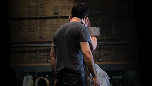 Sierra and Ramin practicing the kiss in the final lair ♥ goodness I love them together :)