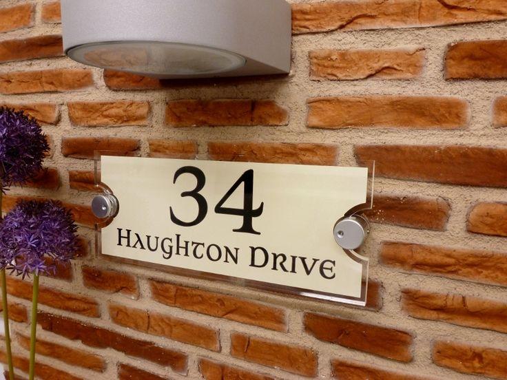 Best 25+ Number plate design ideas on Pinterest   House number ...