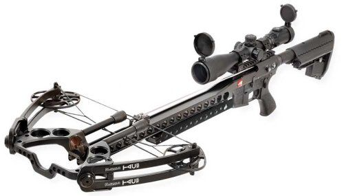 Zombies beware: TAC-15 Tactical Crossbow means business. HELL YES! I'll take a couple of those :)