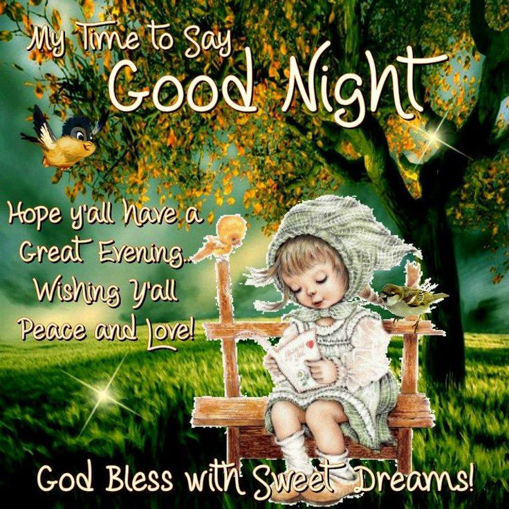 ☆☆☆ Good Night sister, God Bless you and yours,may you have a blessed restful,peaceful sleep.xxx ☆☆☆