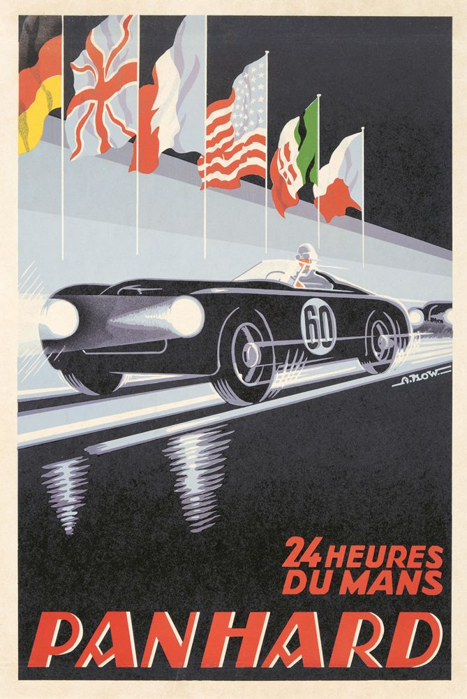 12 best Vintage Automobile Posters images on Pinterest | Cars ...