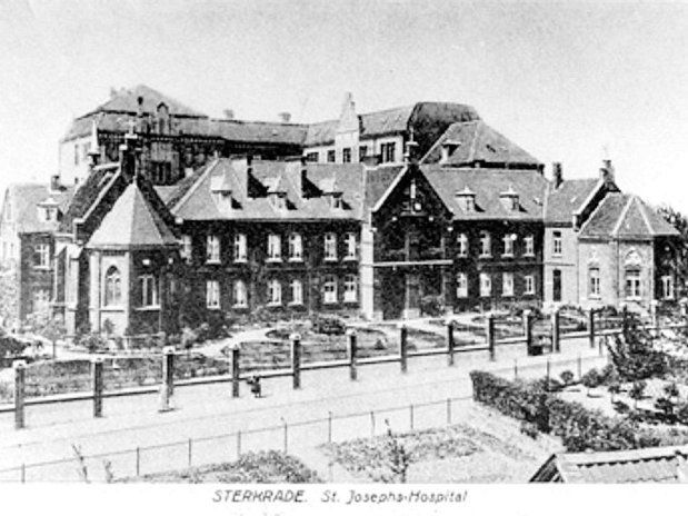 ST: JOSEF HOSPITAL  IN OBERHAUSEN STERKRADE