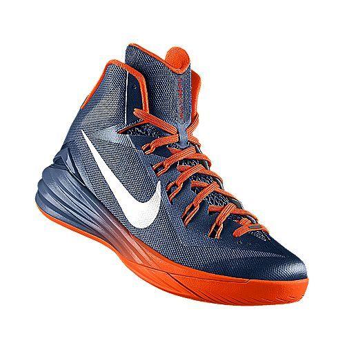 I designed the dark blue Illinois Fighting Illini Nike men's basketball shoe .