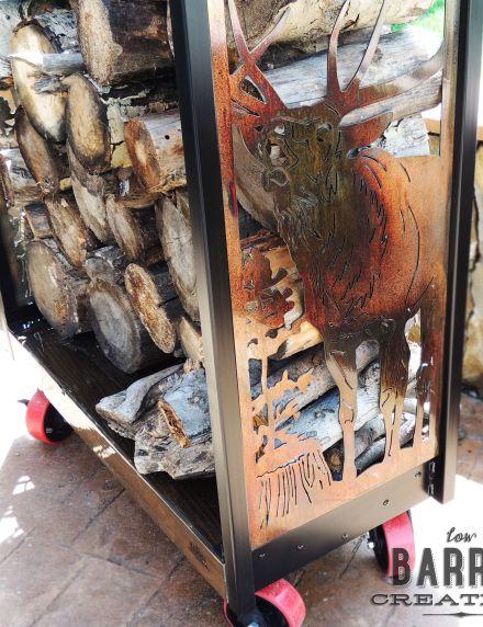 Best 25+ Industrial firewood racks ideas on Pinterest | Firewood ...